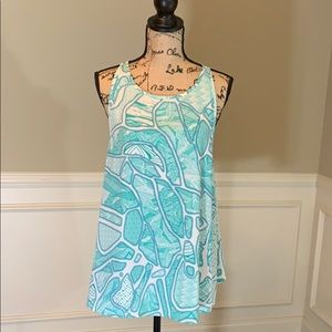 ✨Like New✨ Kate & Lily Patterned Sleeveless Top